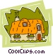English cottage Vector Clip Art image
