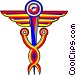 Caduceus Vector Clip Art picture