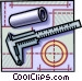 measurement Vector Clipart illustration