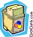 ink cartridge Vector Clipart picture