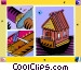 housing construction Vector Clipart picture