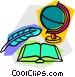school project Vector Clipart graphic