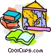 school project Vector Clip Art picture