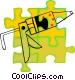 caulking gun Vector Clip Art graphic