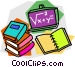 school project Vector Clipart image