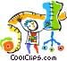 mannequin Vector Clip Art image