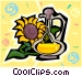 dandelion wine Vector Clip Art graphic