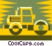 steamroller Vector Clip Art picture