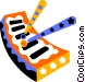 xylophone Vector Clipart picture