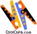 clothes pins Vector Clipart illustration