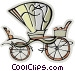 carriage Vector Clip Art image