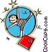 acrobat Vector Clip Art picture