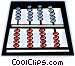 abacus Vector Clipart graphic