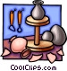 pottery Vector Clipart illustration