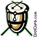 drum Vector Clip Art image