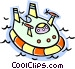 hover craft Vector Clip Art picture