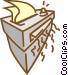 paper shredder Vector Clip Art image