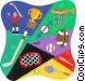 sports equipment Vector Clip Art image