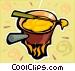 Fondues Vector Clip Art image