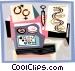 DNA Vector Clip Art image