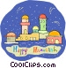 Hanukkah Greeting Vector Clipart picture