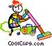 vacuum cleaner Vector Clip Art picture