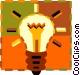Light bulb Vector Clipart graphic