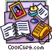 desktop Vector Clipart graphic