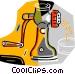 meat grinder Vector Clip Art image