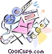 movie equipment Vector Clipart picture