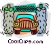Car wash Vector Clipart picture