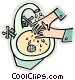 washing your hands Vector Clipart image