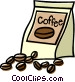 coffee beans Vector Clipart image