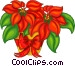 Poinsettia Vector Clipart graphic
