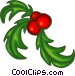 Christmas decorations Vector Clip Art graphic