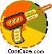soldering gun Vector Clipart image