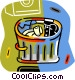trash can Vector Clip Art picture