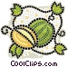 melons Vector Clipart graphic