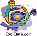 communication equipment Vector Clip Art picture