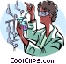 scientist Vector Clipart illustration