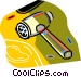 meat tenderizer Vector Clipart graphic