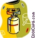 camping stove Vector Clipart image