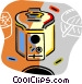deep fryers Vector Clipart picture