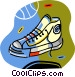 basketball shoe Vector Clipart image