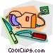 knives and sharpeners Vector Clip Art image