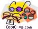 glasses on sale Vector Clip Art graphic