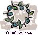 wreaths Vector Clip Art graphic