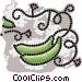 zucchini Vector Clipart picture