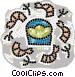 sea food Vector Clipart image