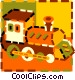 toy train Vector Clip Art picture